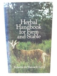 Herbal Handbook For Farm And Stable By Juliette D. Levy 1976, Tpb Livestock