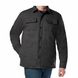 Rugged Elements Menand039s Insulated Utility Shirt Jacket Variety Colors And Size E34