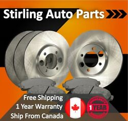 2009 2010 For Mini Cooper John Cooper Works Front And Rear Brake Rotors And Pads