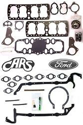 1939-1948 Ford And Mercury 239 | Full Engine Gasket Set | Best Gasket | Graphtite