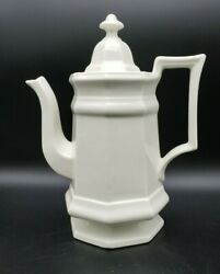 Iroquois China Greenfield Village Henry Ford Museum Coffee Tea Pot Teapot Usa