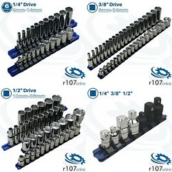 Blue Point Tools, 1/4, 3/8 And 1/2 Deep And Shallow Sockets With Adaptor Set