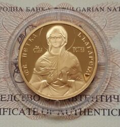 Bulgaria 100 Leva 2012 Gold Coin St.petka. Proof.mint