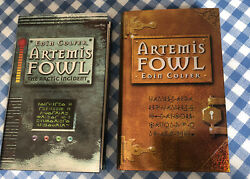 Artemis Fowl 1st Two Books Signed 1st / 1st Unread Eoin Colfer Book Marks