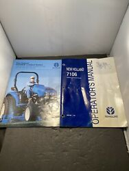 New Holland Service Manual And Brochure