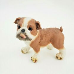 Bulldog Statue Figurine Standing Standing Collectible Great Detail