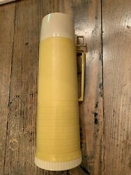 Vintage Thermos, Vacuum Bottle, Made In Norwich, Conn. U.s.a., 13-1/2 In Height