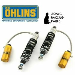 Hd 357 Ohlins 2 X Shock Absorber Harley Electra Glide Classic Flhtc 2007 2013