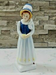 Vintage Royal Doulton Figurine Lucy Hn 2863 Retired Kate Greenaway Collection