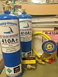 R410 R410a R-410 R-410a Refrigerant With Self-sealing Leak Stop Kit