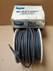 Bendix 12 Ga Braided Laquered Primary Copper Wire Approximately 100and039 On A Spool
