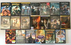 Ya Book Blockbuster Dvds Lord Of The Rings Narnia Harry Potter Hunger Games Lot