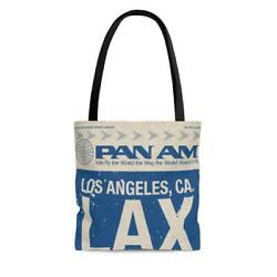 Pan Am Lax Baggage Claim 1927 Vintage Tote Bag