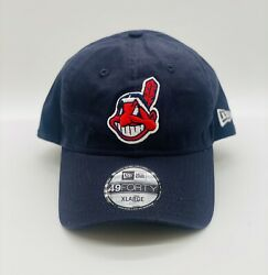 New Era 49forty Cleveland Indians Hat Chief Wahoo Patch Mlb Fitted Size Xl New