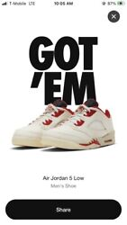Air Jordan 5 Low Cny Chinese New Year 2021, Size 9.5 Men's, Order Confirmed ✅