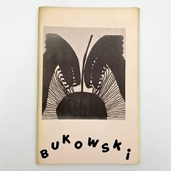 Charles Bukowski / Confessions Of A Man Insane Enough To Live With Beasts 1st Ed