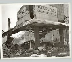Store In Downtown Reno Nevada Explosion And Fire Damage Vintage 1957 Press Photo