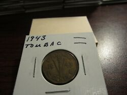 1943 Tombac - Canada 5 Cent Coin - Canadian Nickel