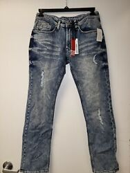 Designer For Your Daily Pleasure Ethan Super Slim Jeans By Buffalo VARIETY B32 $26.95