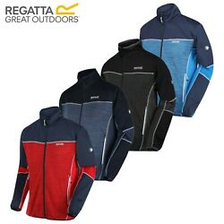 Regatta Yare Iii Mens Golf Water Repellent Stretch Softshell Jacket Coat Rrp Andpound60