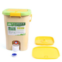 Recycle Composter HDPE Aerated Compost Bin Kitchen Food Waste Bucket 21L $52.64