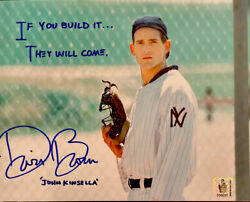 Dwier Brown Signed 8x10 Inscribed Andldquoif You Build It...andrdquo Field Of Dreams Coa Holo
