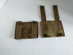 New Us Military Coyote Alice Adapter Molle Pals Alice Clip Us Military Lot Of 2