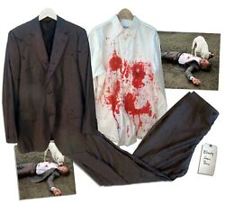 Sean Penn Screen Worn Suit From What Just Happened