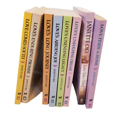 Lot Of 8 1-8 Love Comes Softly Complete Series Set Of Books - Janette Oke