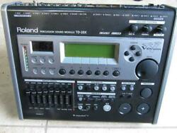 Roland Td-20x Percussion Sound Module V-drums Free Shipping Arrive Quickly