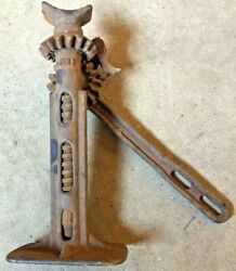 Vintage Model T Car Jack In Working Condition