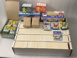 Estate Liquidation Nhl Hockey Sports Cards Mixed Lot With Wax Packs