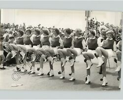 Majorette Dancer Perform For Lions Club In Nice, France 1960s Press Photo