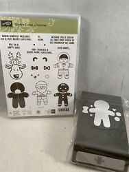 Cookie-cutter Christmas Stamp Set And Cookie-cutter Punch Stampin Up New