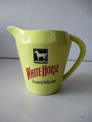Vintage White Horse Scotch Whisky Water Jug By Wade England Rare Collectiblesf8
