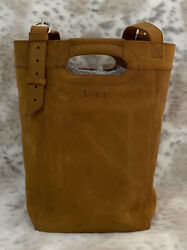 NWT ❤️ Love 41 Bucket Leather Tote Tobacco ❤️ $230.00