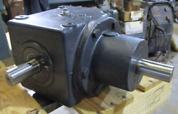 Browning 18hb1-lr10 Bevel Gear Drive Speed Reducer 1.5shaft/3l 11 Ratio