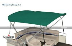 Summerset 4 Bow Bimini Replacement Top Canvas Only - 96l X 96w   Teal
