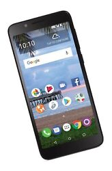 Tracfone Carrier-locked Tcl Lx 4g Lte Prepaid Smartphone - Black - 16gb - Sim...