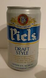 Vintage Fox Deluxe Beer Can Pull Tab Breweriana Empty 12 Oz Collectible