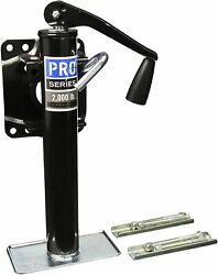 Pro Series 1400300303 Bolt-on Topwind Trailer Jack 2000lb New Free Shipping