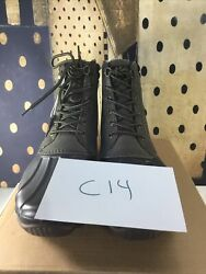 Sperry Top Sider Mens Olive Green Rain Boots Size 10 M Skuc14