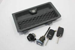 Audi Tt 8n Roadster Grey Cubby Door Locks Ignition Barrel And Keys