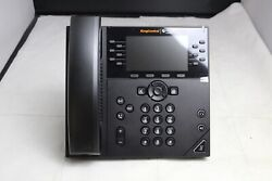Refurbished Polycom Ring Central Vvx 450 Ip Phone 2201-48840-007 No Stand