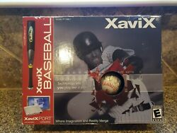 Baseball Xavix For Xavixport Console Video Game System Complete In Box New