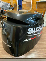 2014 Suzuki Df 70 Hp 4 Stroke Outboard Engine Top Cowl Cover Hood Freshwater Mn