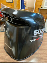 2013 Suzuki Df 115 Hp 4 Stroke Outboard Engine Top Cowl Cover Hood Freshwater Mn