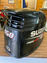 2012 Suzuki Df 150 Hp 4 Stroke Outboard Engine Top Cowl Cover Hood Freshwater Mn