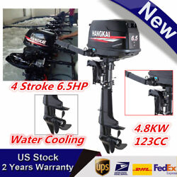 Hangkai 6.5hp 4stroke Outboard Motor Boat Marine Engine +water Cooling Cdi Sys
