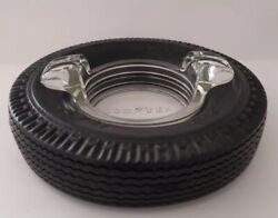 Vintage Goodyear Tire Advertising Rubber Ashtray